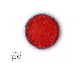 Jedlá prachová barva Fractal - Burning Red, Égö piros (1,5 g)