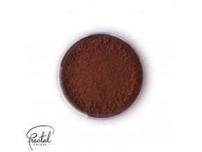 Jedlá prachová barva Fractal - hnědá - Dark Chocolate, Étcsokoládé (1,5 g)