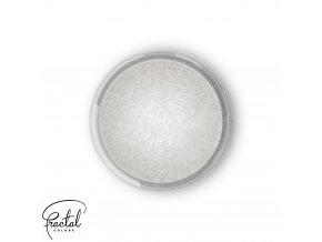 Jedlá prachová perleťová barva Fractal - Pearl White, Gyöngyház fehér (3,5 g)