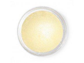 Jedlá prachová perleťová barva Fractal - Lemon Mist, Vanília (2,5 g)