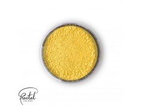 Jedlá prachová barva Fractal - Canary Yellow, Kanári sárga (2,5 g)