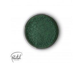 Jedlá prachová barva Fractal - Dark Green, Sötét zöld (1,5 g)