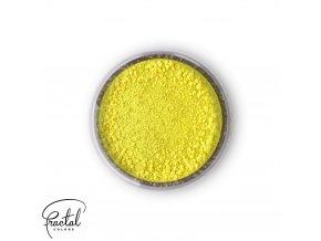 Jedlá prachová barva Fractal - Lemon Yellow, Citromsárga (3 g)