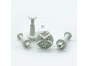 Vypichovač - mini hvězdičky - 4ks