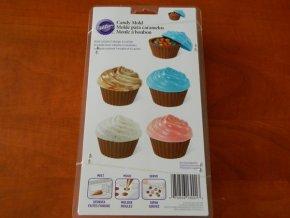 Forma na čokoládové ozdoby - muffinky střední