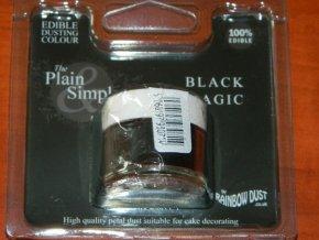 RD Prachová barva černá Rainbow - Black Magic 2g