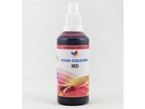 Airbrush barva tekutá 60ml Food Colours Red - červená
