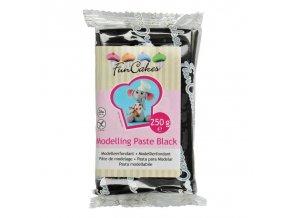 FunCakes Modelling Paste Black - modelovací hmota černá - 250g