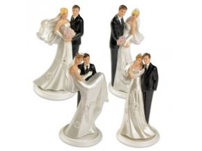 Svatební figurka na dort 1ks 145mm - Gunthart