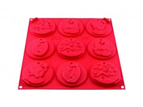 Silikonová forma na Vánoční sušenky - Silikomart