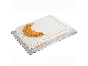 Wilton kartonové podložky pod dort - obdélník
