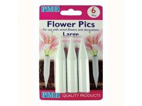 PME zápich na živé květiny - velký 6ks
