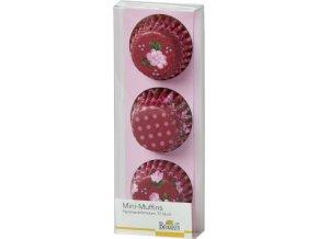 Mini košíšky na muffiny LA VIE EN ROSE - Birkmann