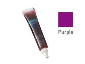 Barevný jedlý gel - fialová 25g - Silikomart