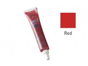Barevný jedlý gel- červená 25g - Silikomart
