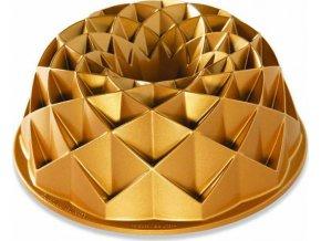 NW Bábovka Jubilee 10cup zlatá 88377 Nordic Ware