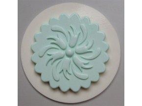 AM096 Silikonová forma Ornament na muffin vzor 4