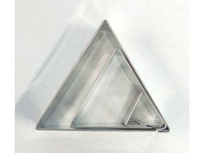Sada vykrajovátek Trojúhelníky (3 ks)