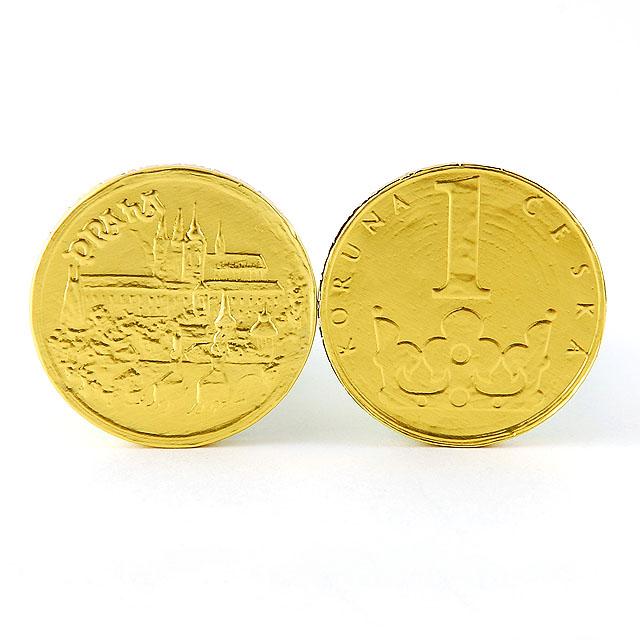 Čokoládové mince - 100 ks
