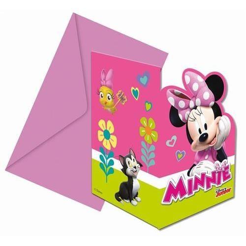 Pozvánky na párty 6 ks - Minnie
