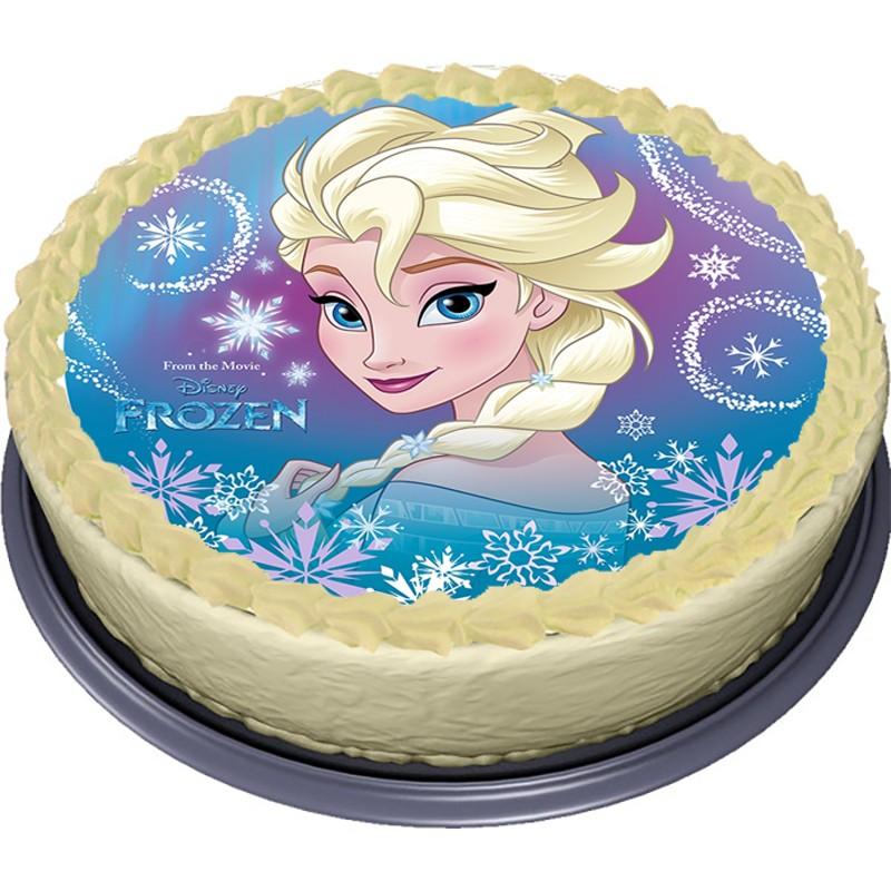 Jedlý papír Elsa - Frozen - Ledové království (2)