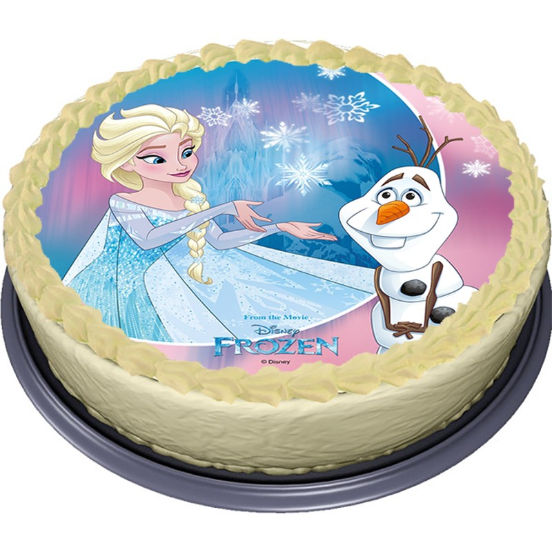 Jedlý papír Elsa - Frozen - Ledové království (3)