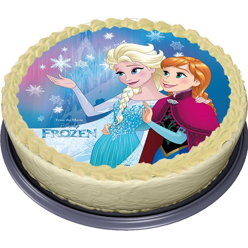 Jedlý papír Elsa - Frozen - Ledové království (4)