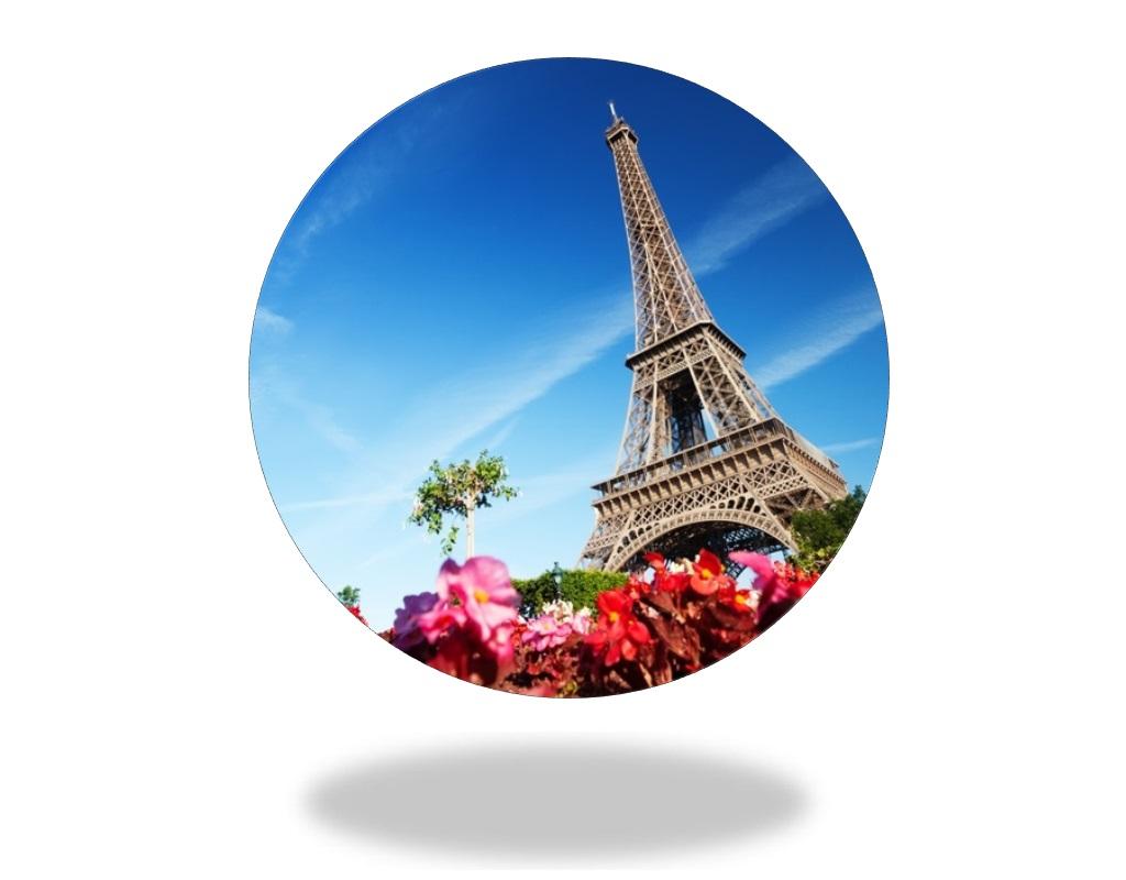 Jedlý papír na dort: PAŘÍŽ - EIFFELOVA VĚŽ