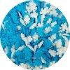 Cukrové vločky bílé a modré (50 g)