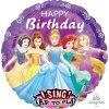 Foliový zpívající balonek Disney Princess - 71 cm