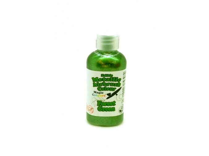 109937 airbrush barva perletova magic colours 55 ml forest green