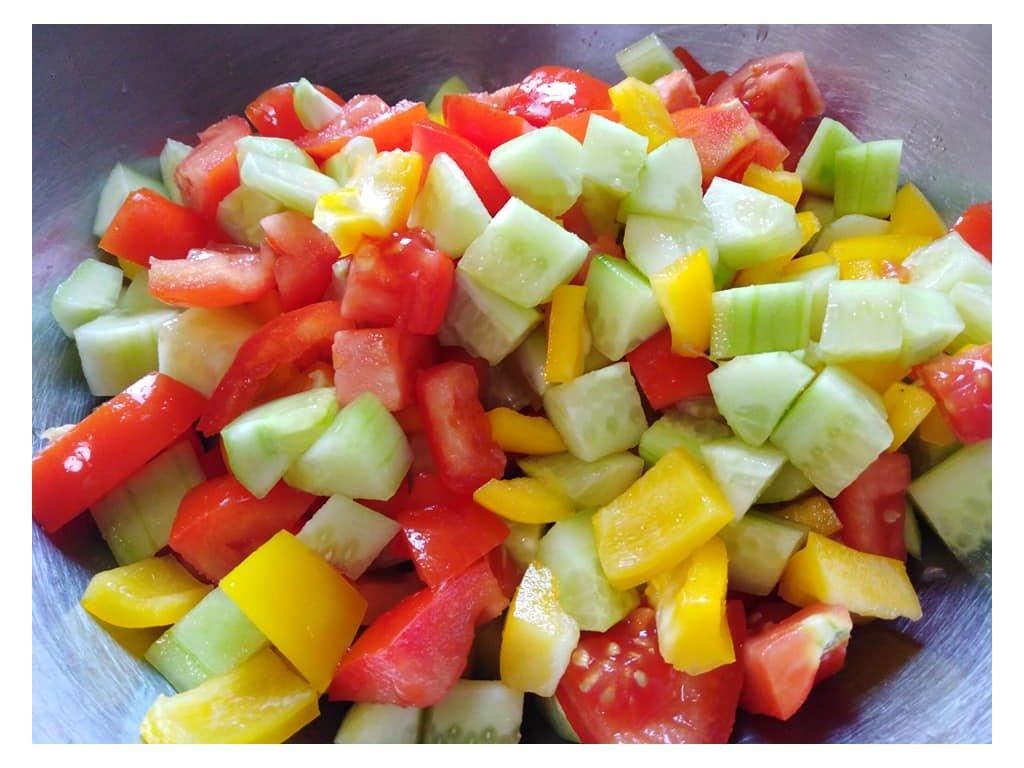 mix zeleninový salátek