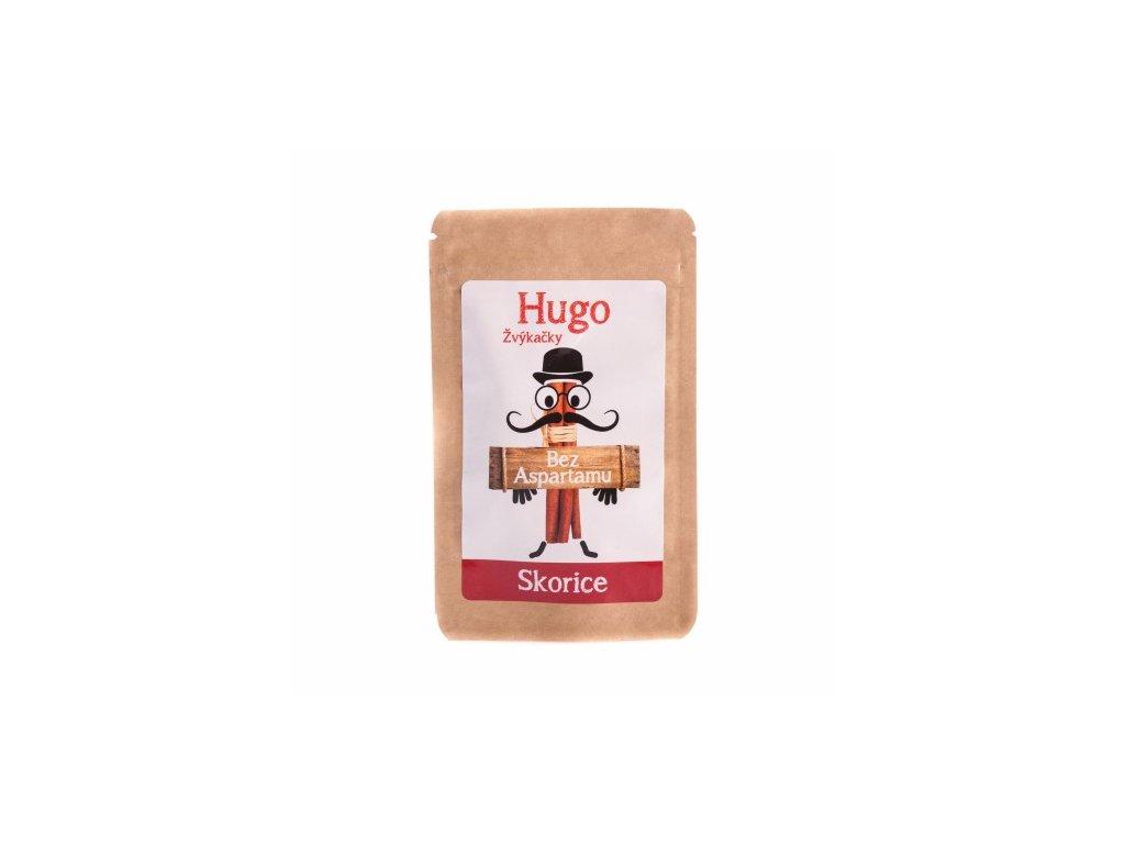 Žvýkačky Hugo skořice