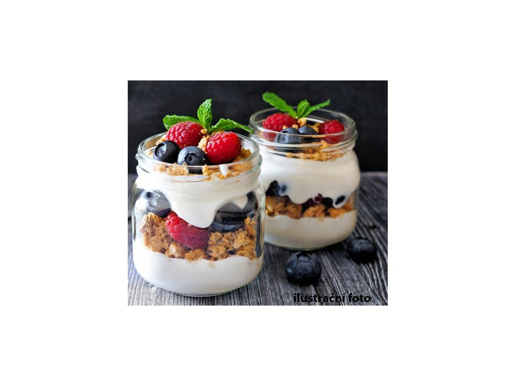 svačiny tvarohové s ovocem