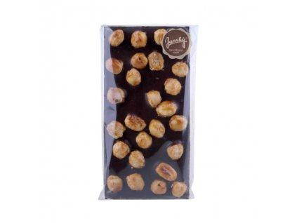 tmavá čokoláda s lískovými ořechy