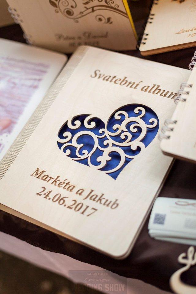 Svatební kniha hostů formát A4