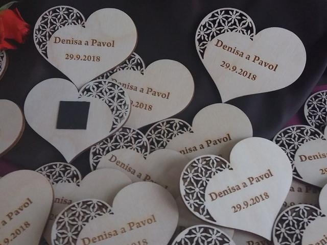 Svatební magnetky