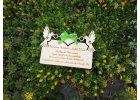 Dřevěné svatební oznámení