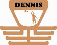 Věšák na medaile s motivem badminton muž
