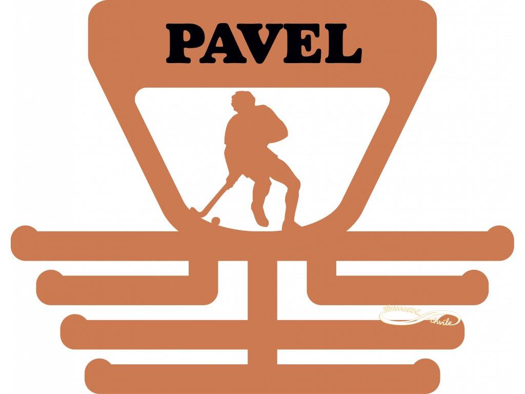 Věšák na medaile pro hráče pozemního hokeje