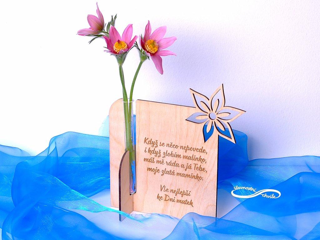 Vázička jako dárek ke Dni matek