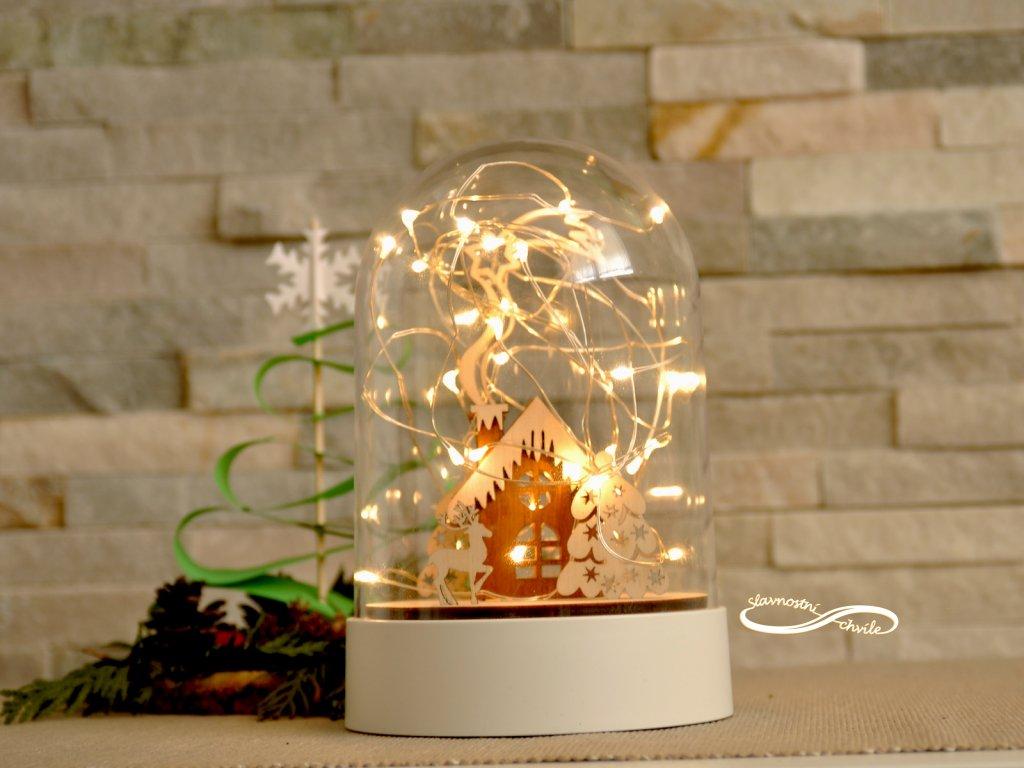 Svítící vánoční dekorace