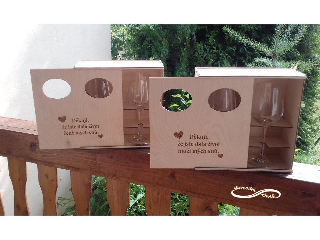 krabička na skleničky