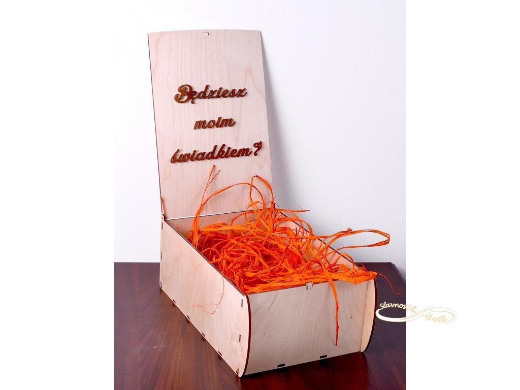 dřevěná krabička 2