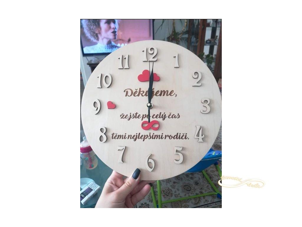 hodiny nekonečno