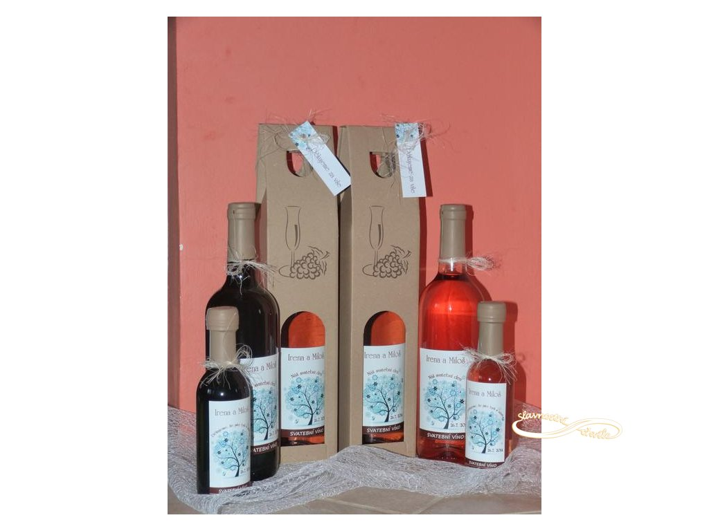 Svatební víno odrůdy Rosé Cuvée