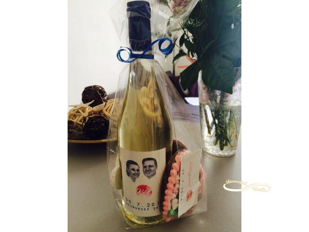Svatební víno Chardonnay