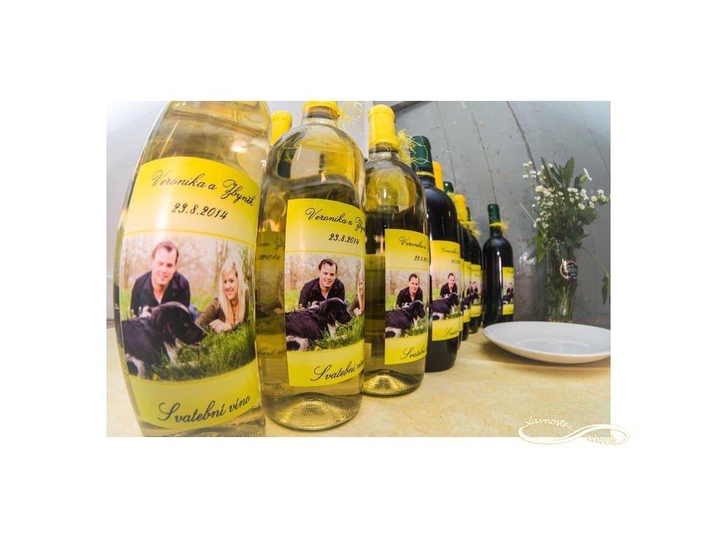 Svatební víno Veltlinské zelené