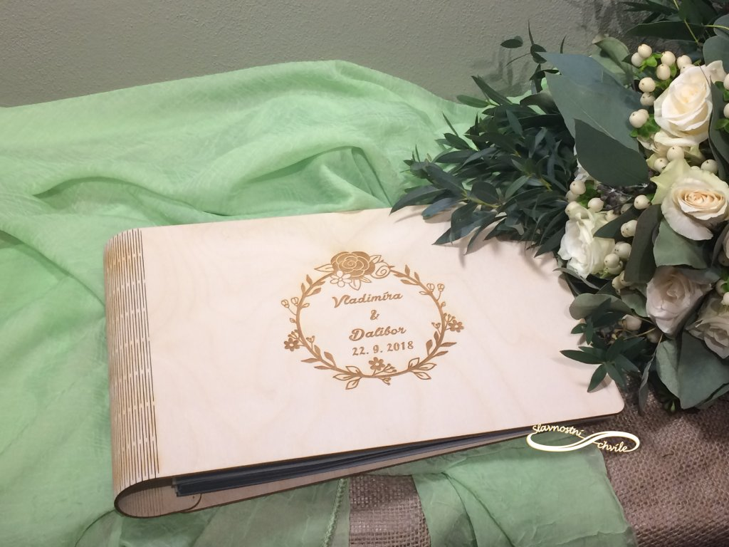 Svatební fotoalbum Rustical