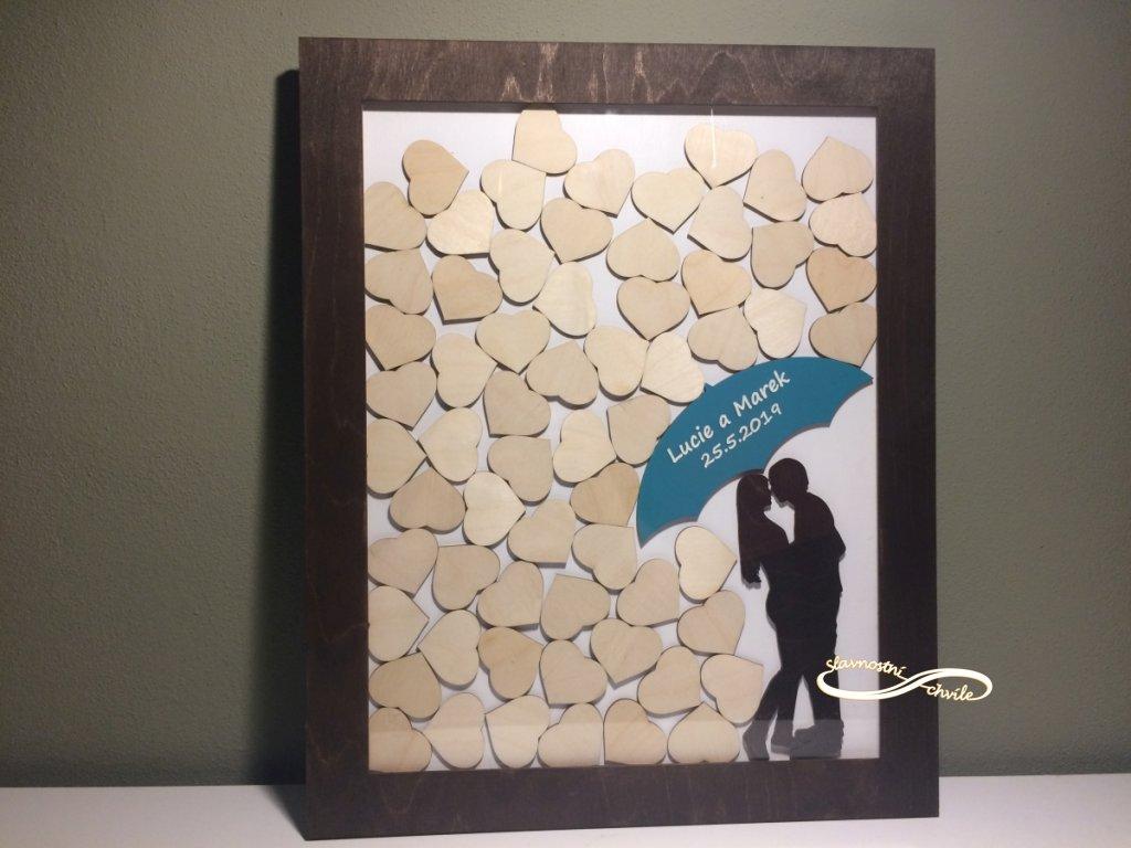 Láska jako řemen - podpisová kniha hostů slavnostní chvíle